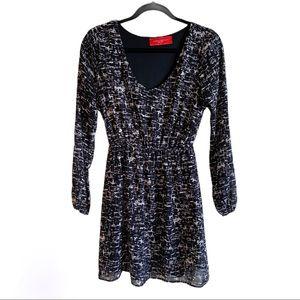 Akita Red Label Black & White Dress